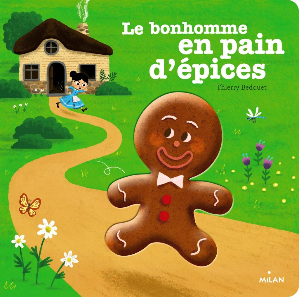Couverture de «Le petit bonhomme de pain d'épices»