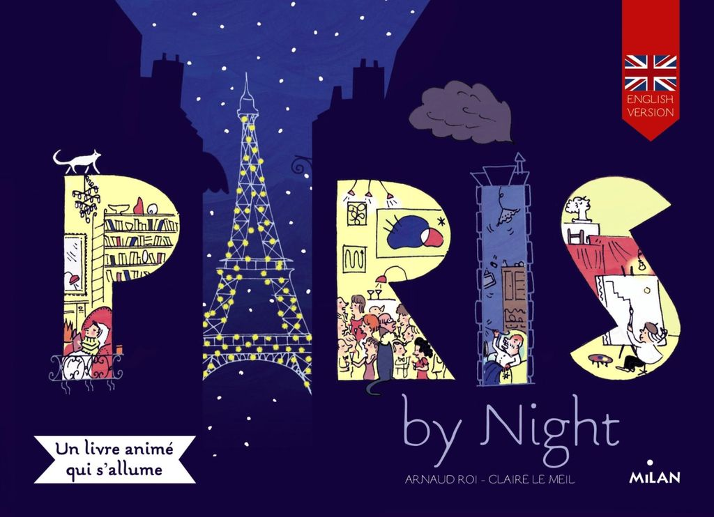 Couverture de « Paris by night »