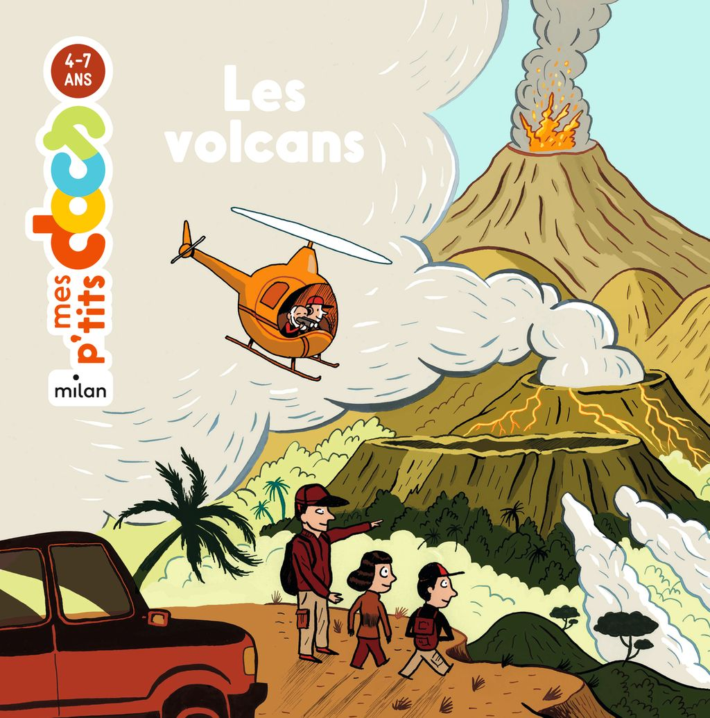 « Les volcans » cover