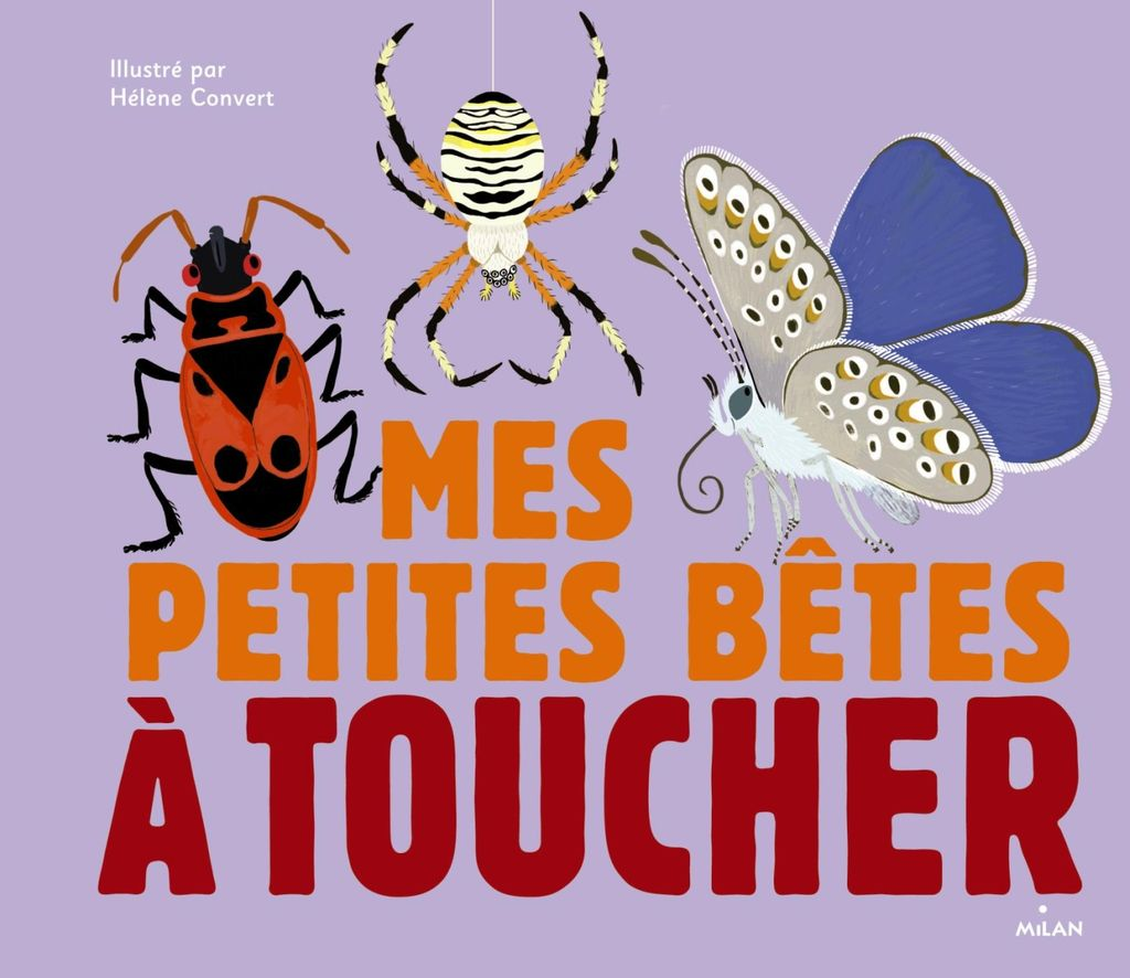 Couverture de «Les petites bêtes à toucher»
