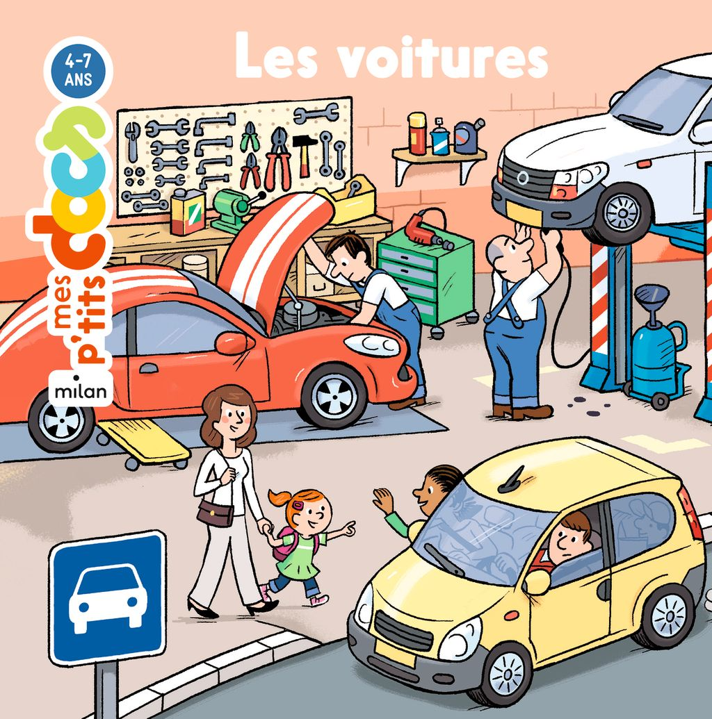 «Les voitures» cover