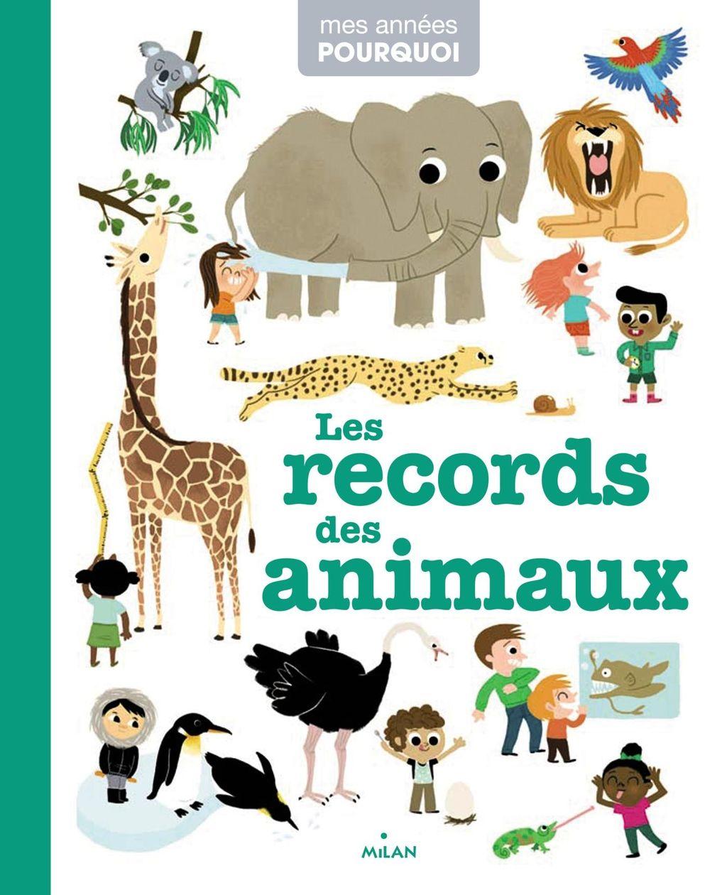 «Les records des animaux» cover