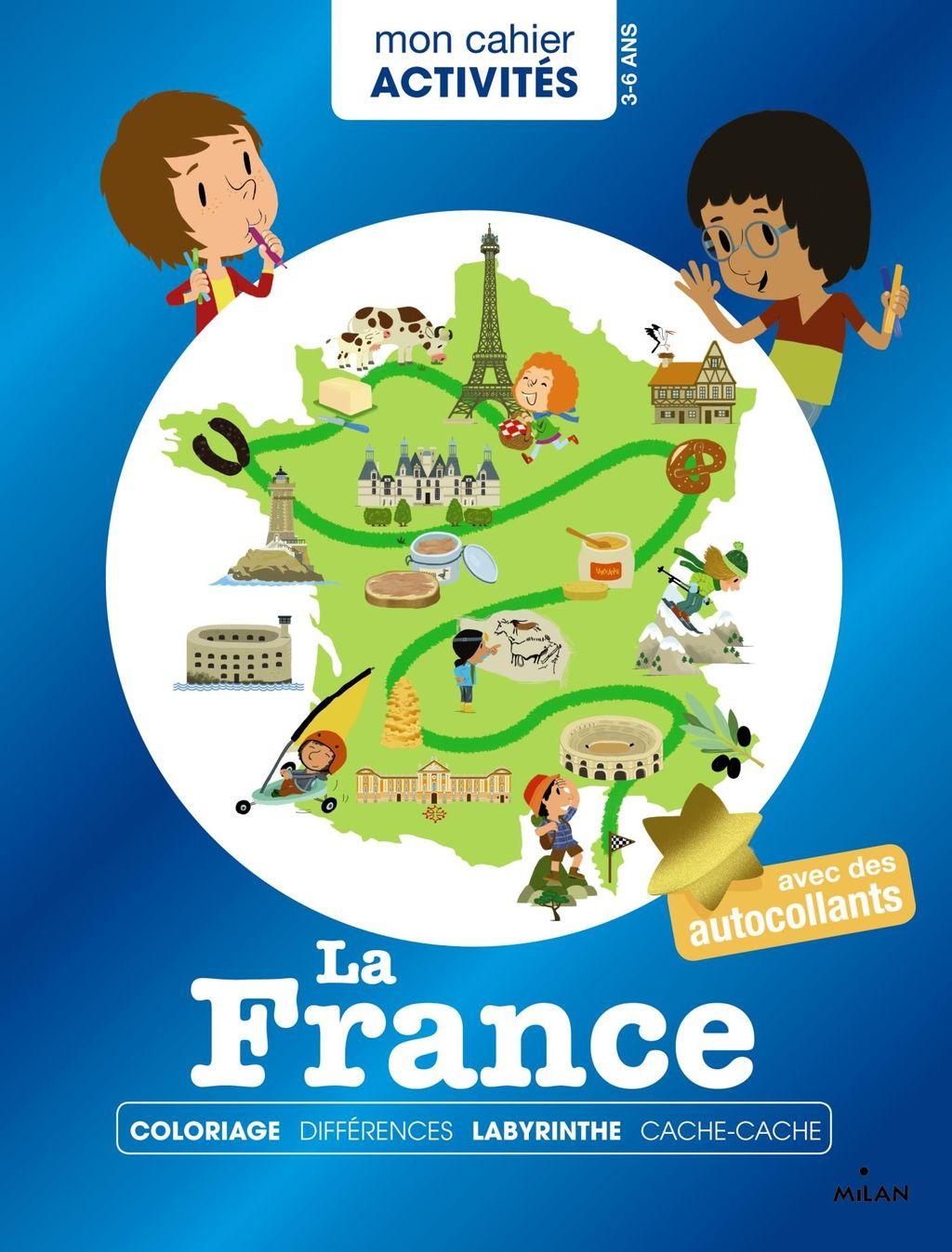 Couverture de «Mon cahier d'activités – La France»