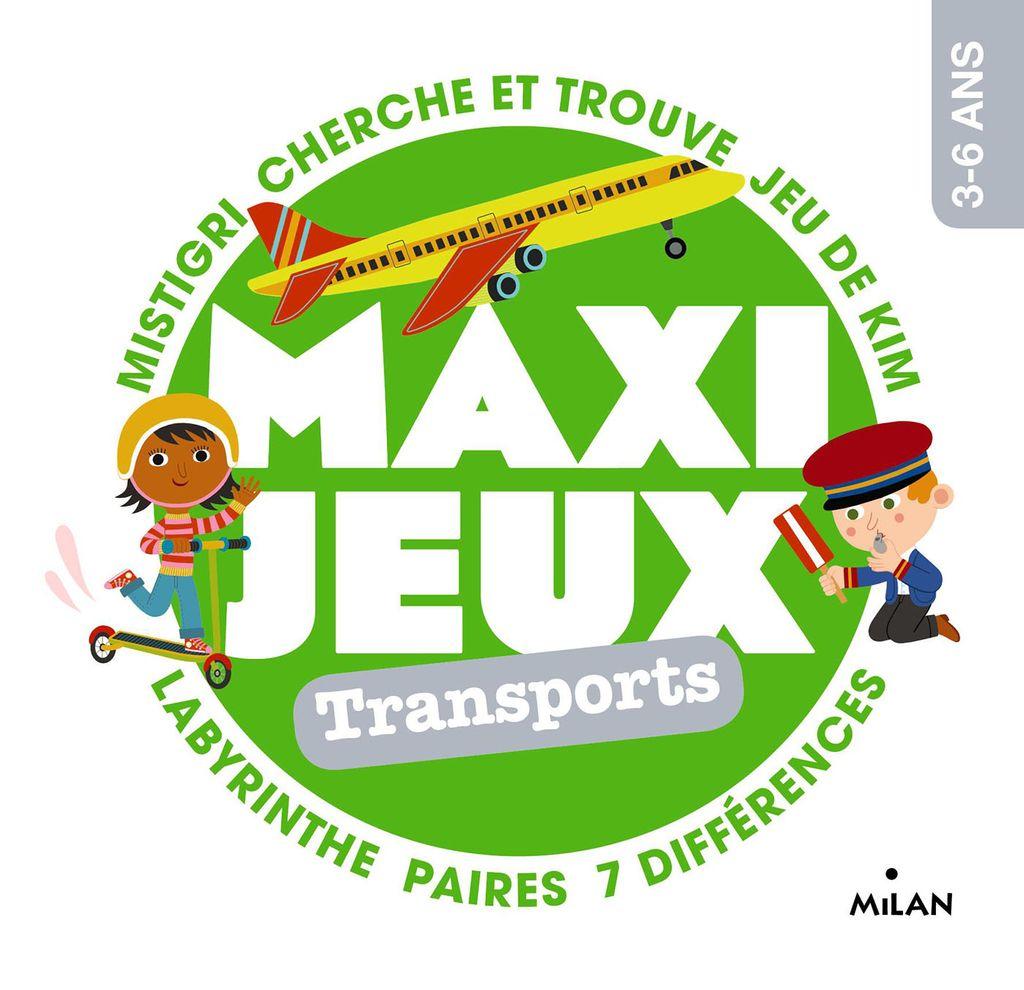 Couverture de «Maxi-jeux – En voyage»