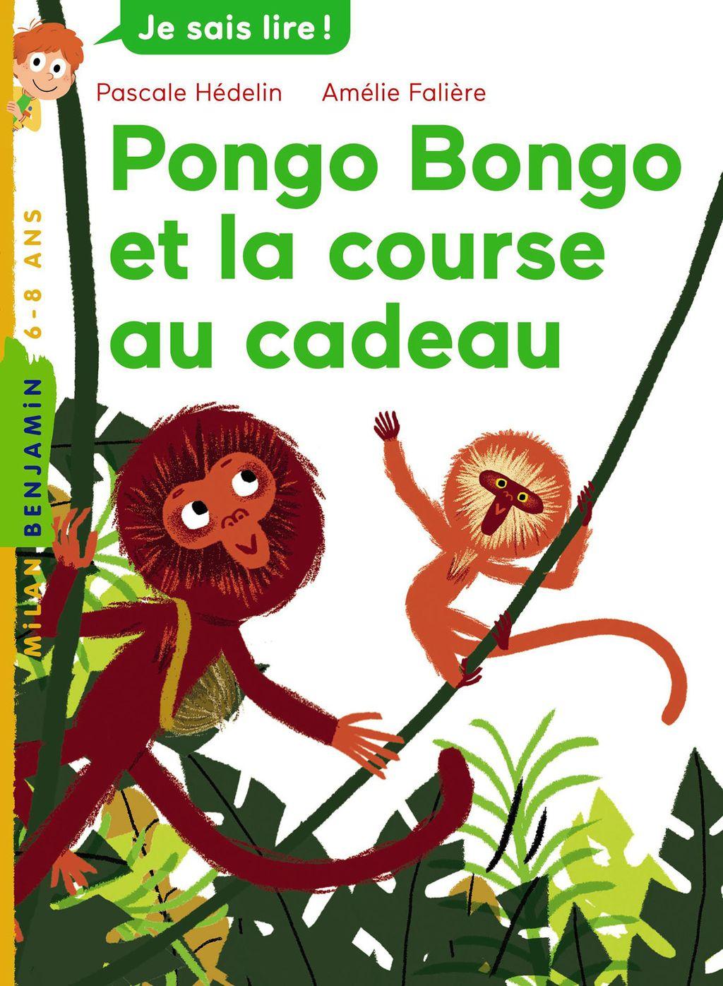 Couverture de «Pongo Bongo et la course au cadeau»
