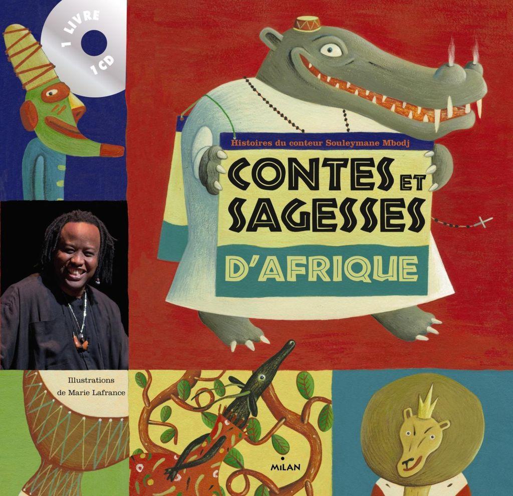 Couverture de «Contes et sagesses d'Afrique + CD»