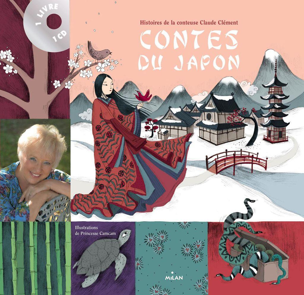 Couverture de «Contes du Japon + CD»