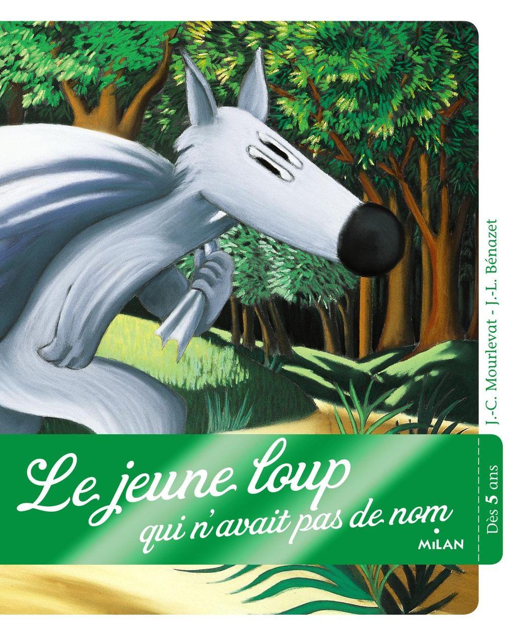 Couverture de «Le jeune loup qui n'avait pas de nom»