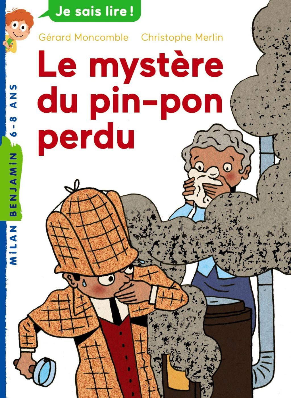 Couverture de «Le Mystère du pin-pon perdu»
