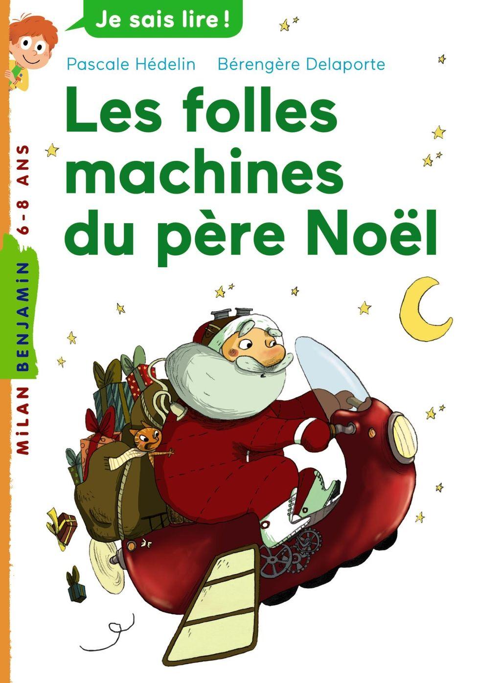 «Les folles machines du père Noël» cover