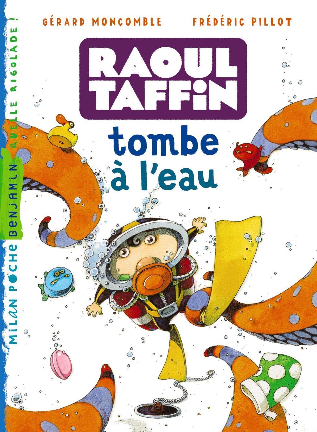 «Raoul Taffin tombe à l'eau» cover