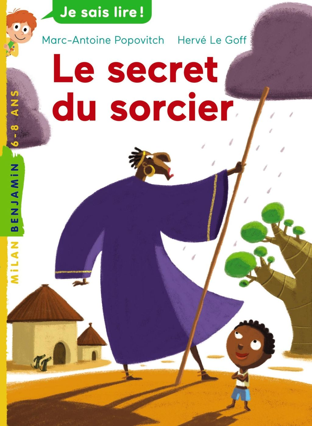 Couverture de « Le secret du sorcier »