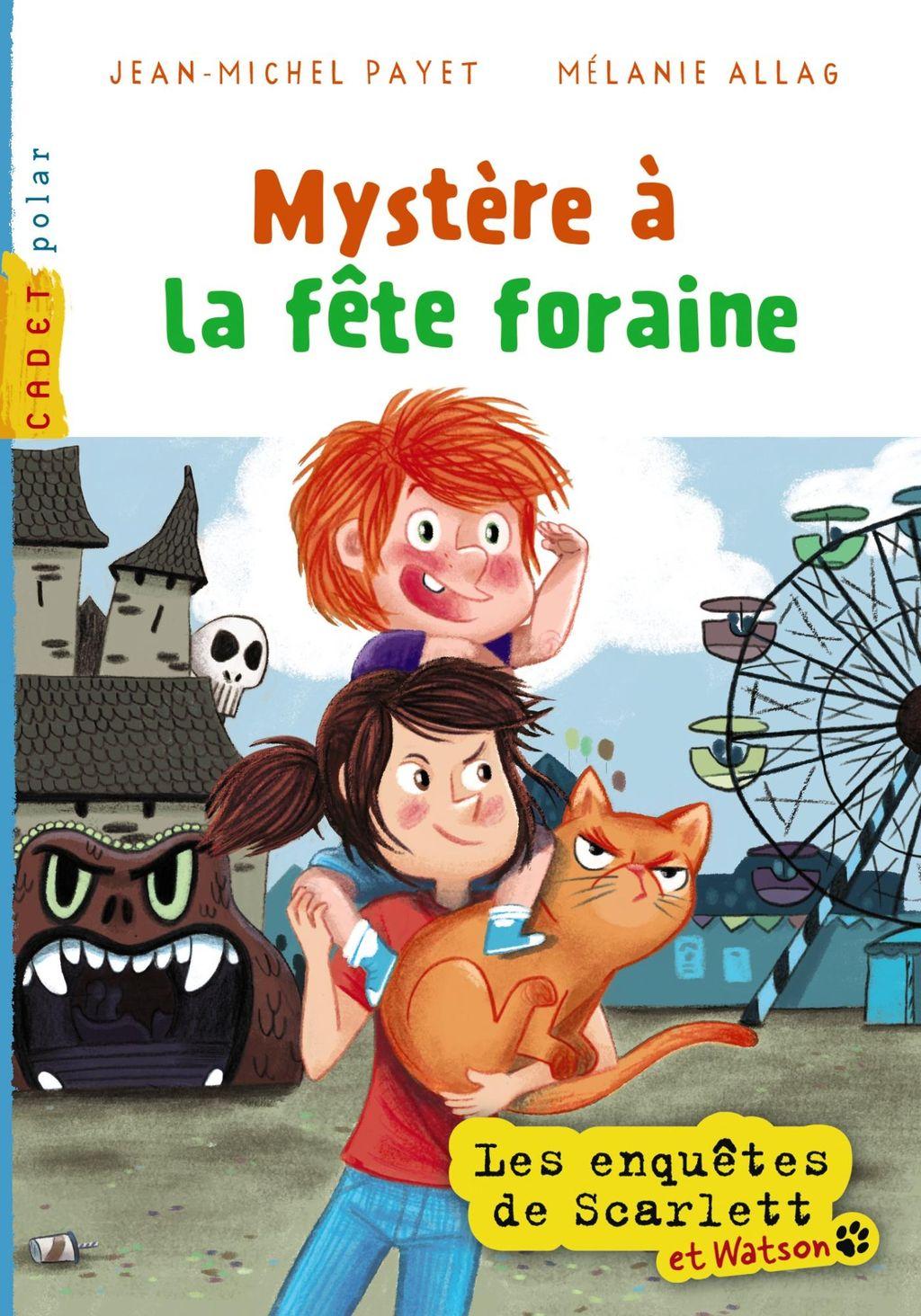 «Mystère à la fête foraine» cover