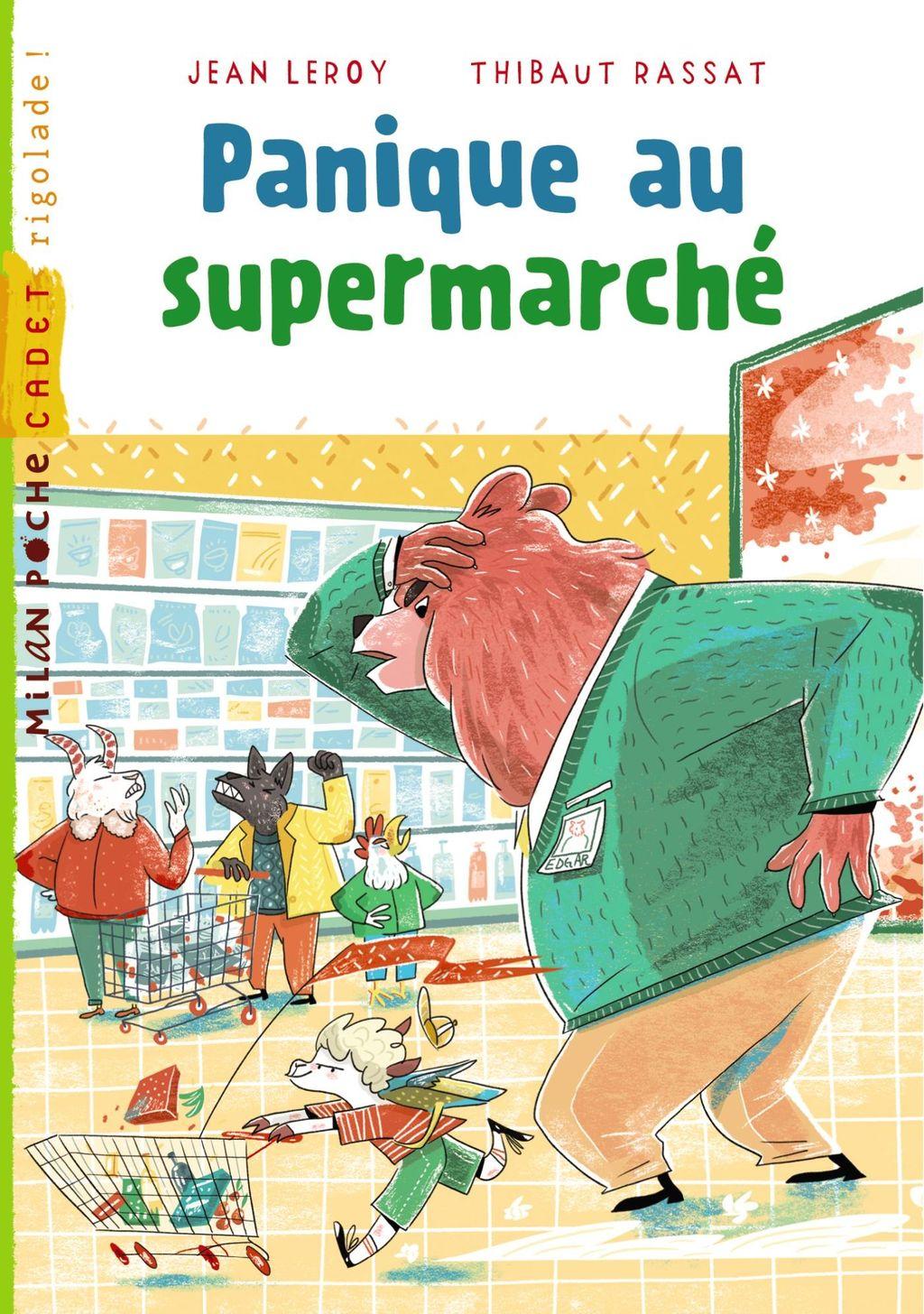 Couverture de «Panique au supermarché»