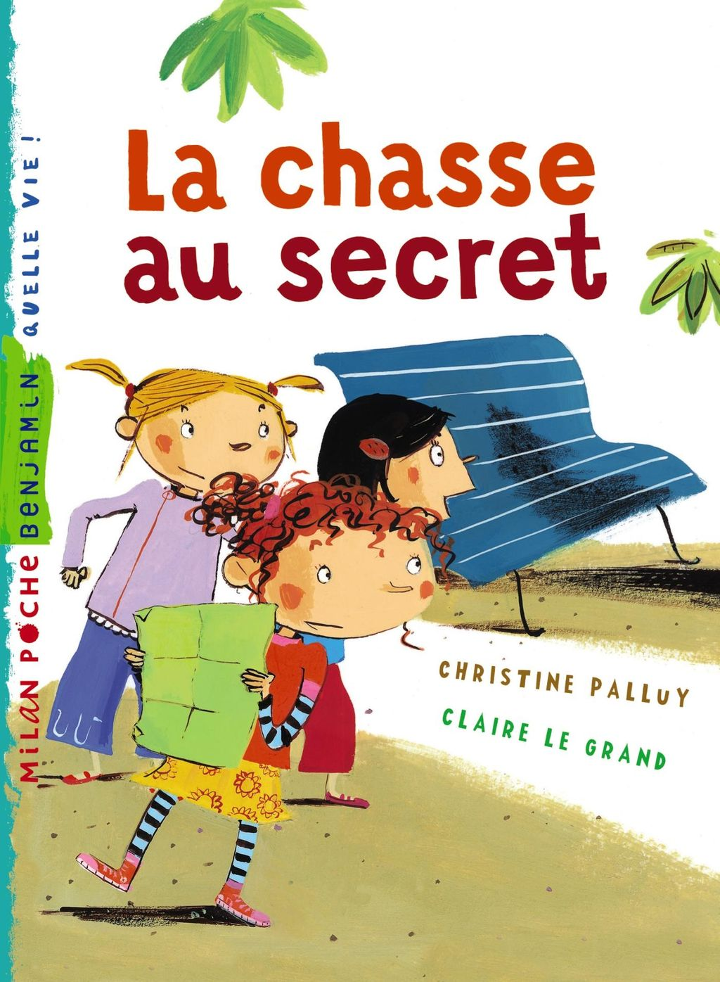 « La chasse au secret » cover
