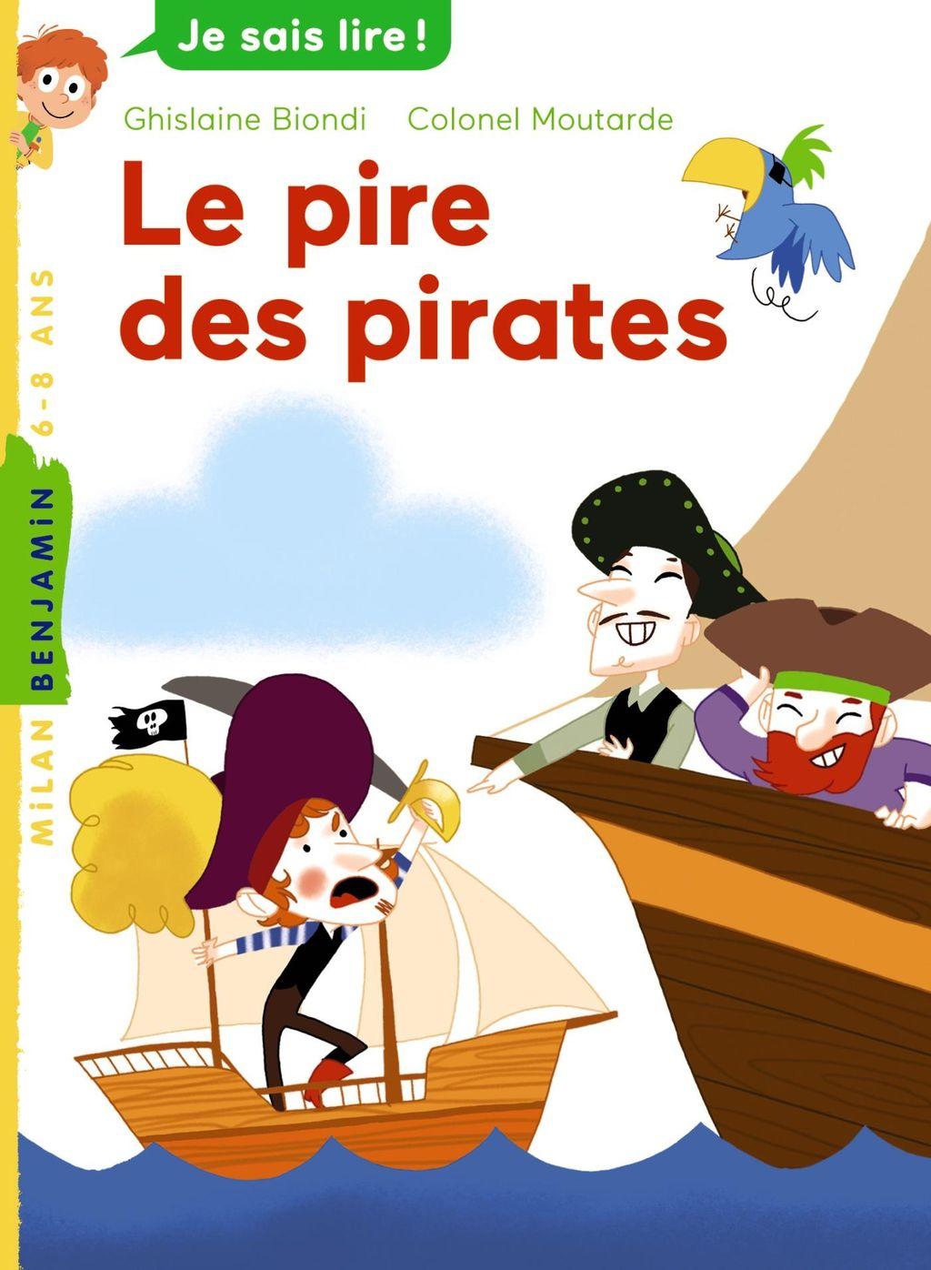«Le pire des pirates» cover