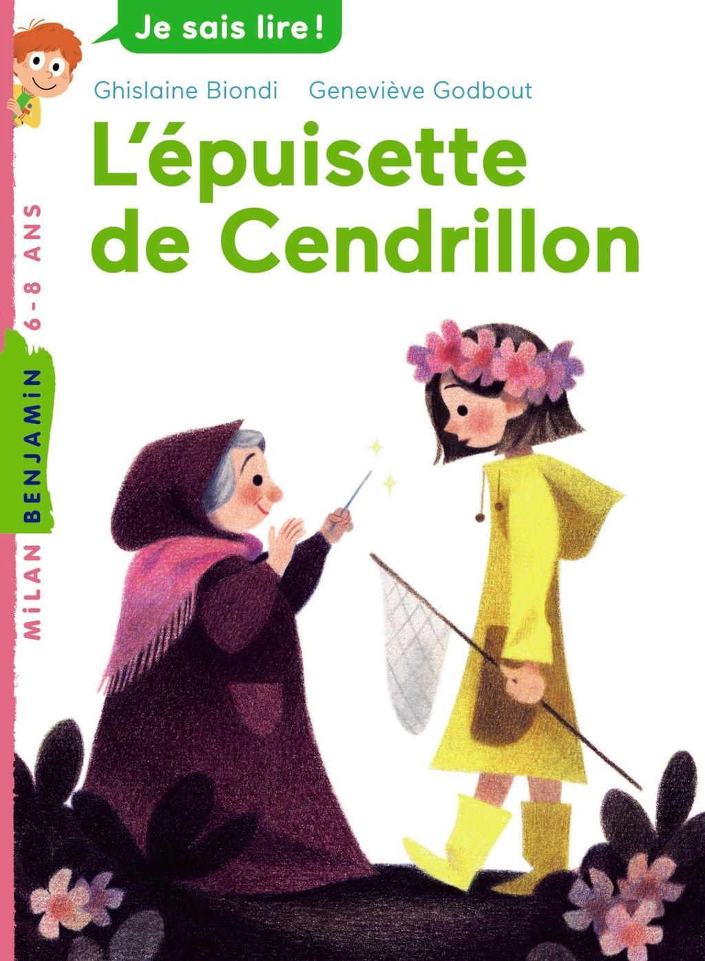 «L'épuisette de Cendrillon» cover