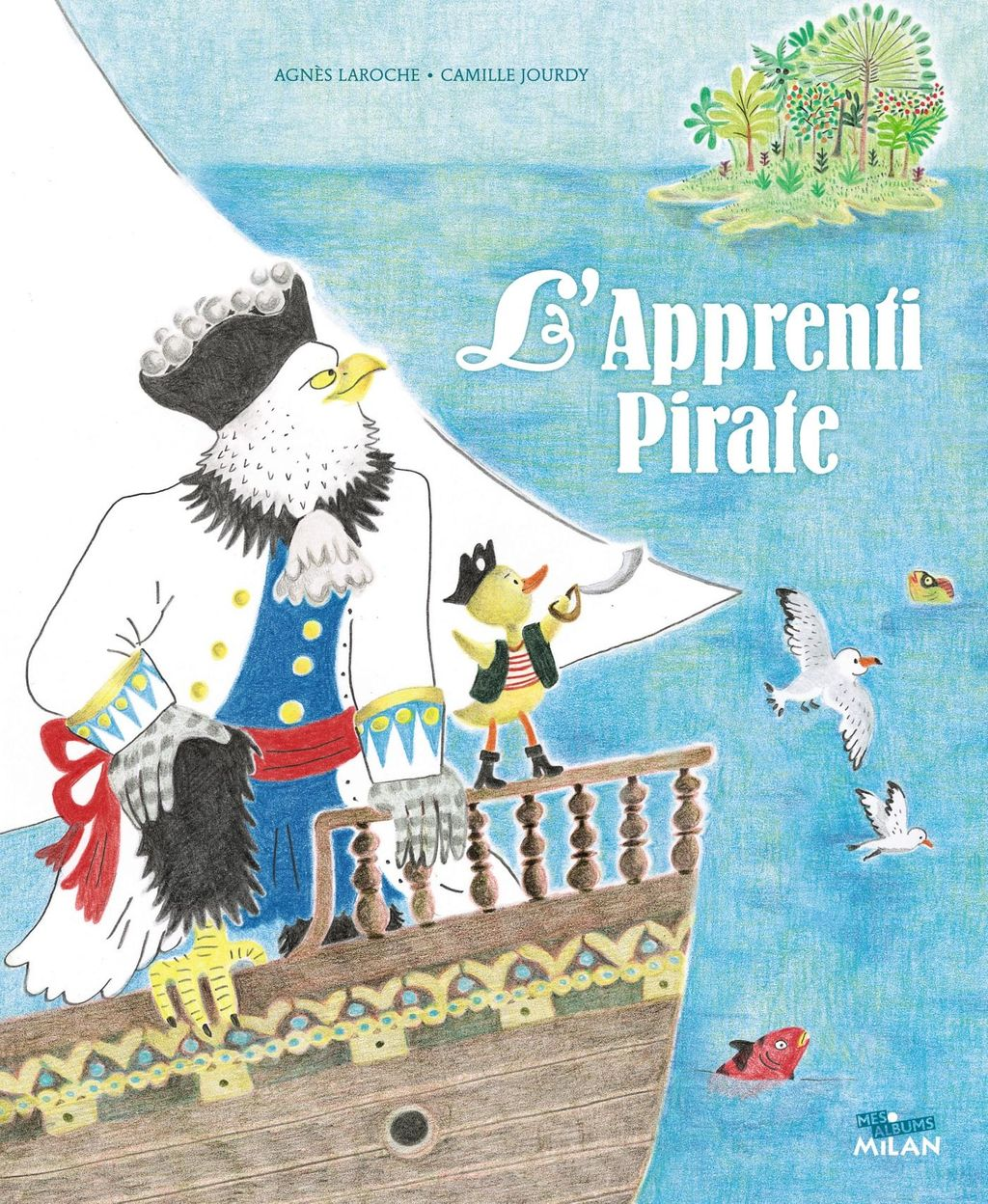 Couverture de « L'apprenti pirate »