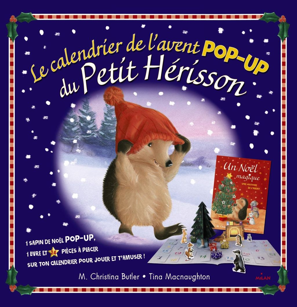 Couverture de «Petit Hérisson – Calendrier de l'avent»