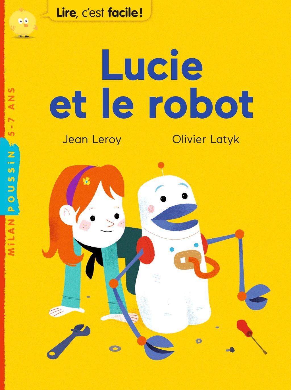 «Lucie et le robot» cover