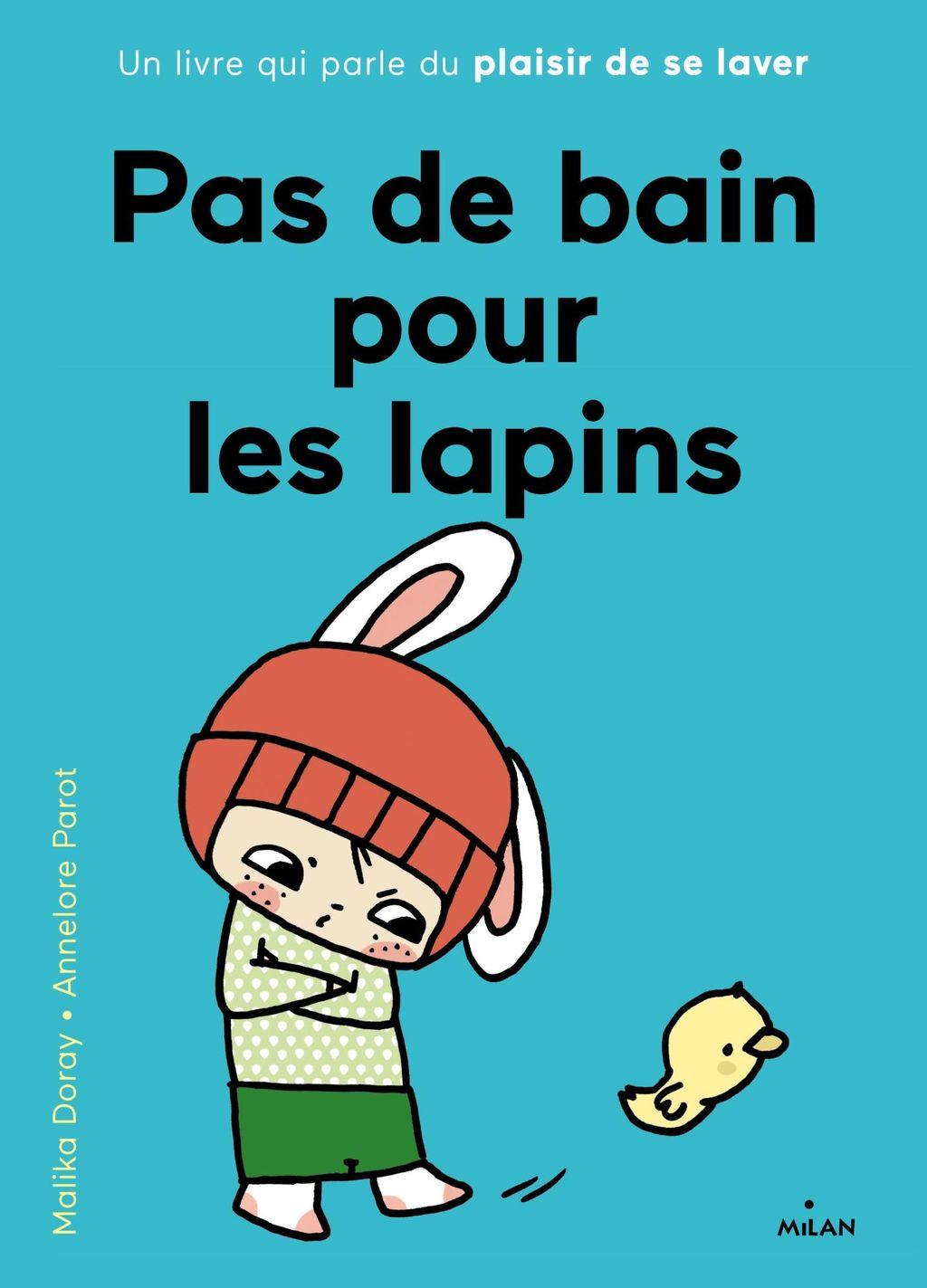 «Pas de bain pour les lapins» cover