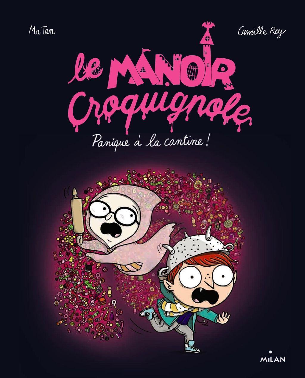 «Panique à la cantine» cover
