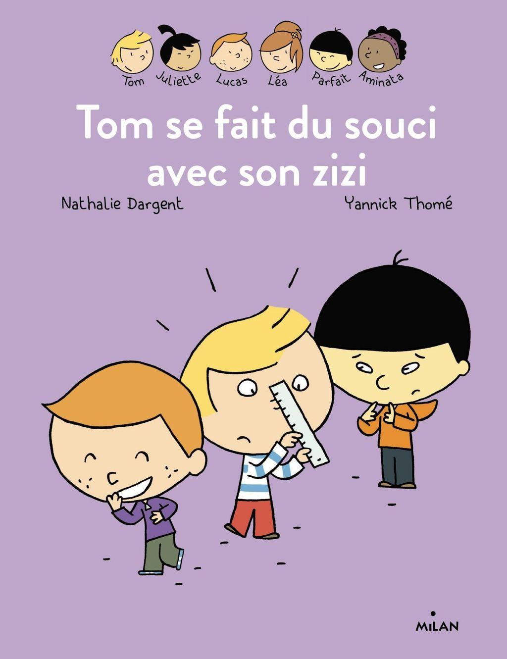 «Les Inséparables -Tom se fait du souci avec son zizi» cover