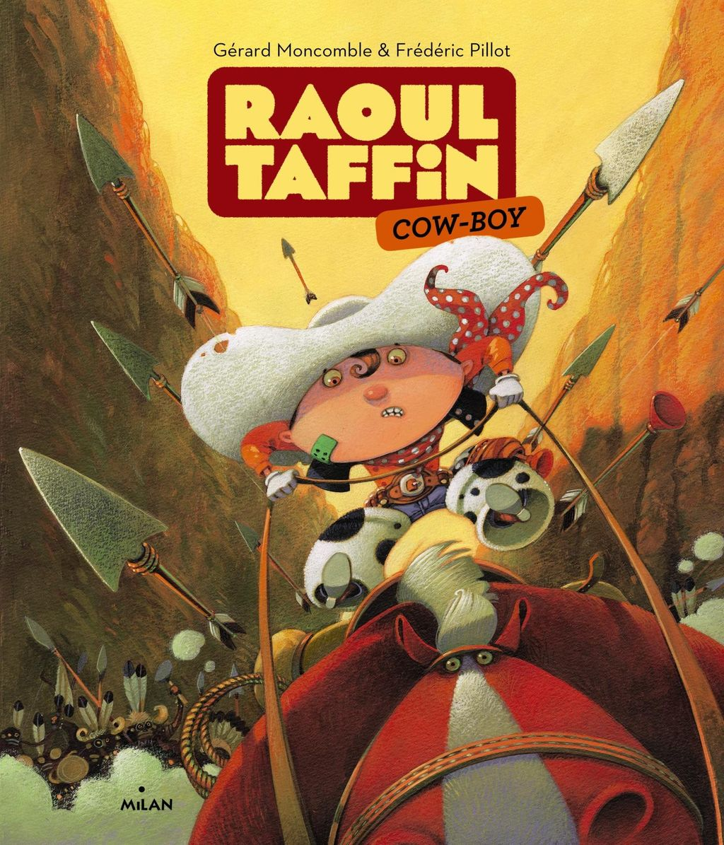 « Raoul Taffin cow-boy » cover