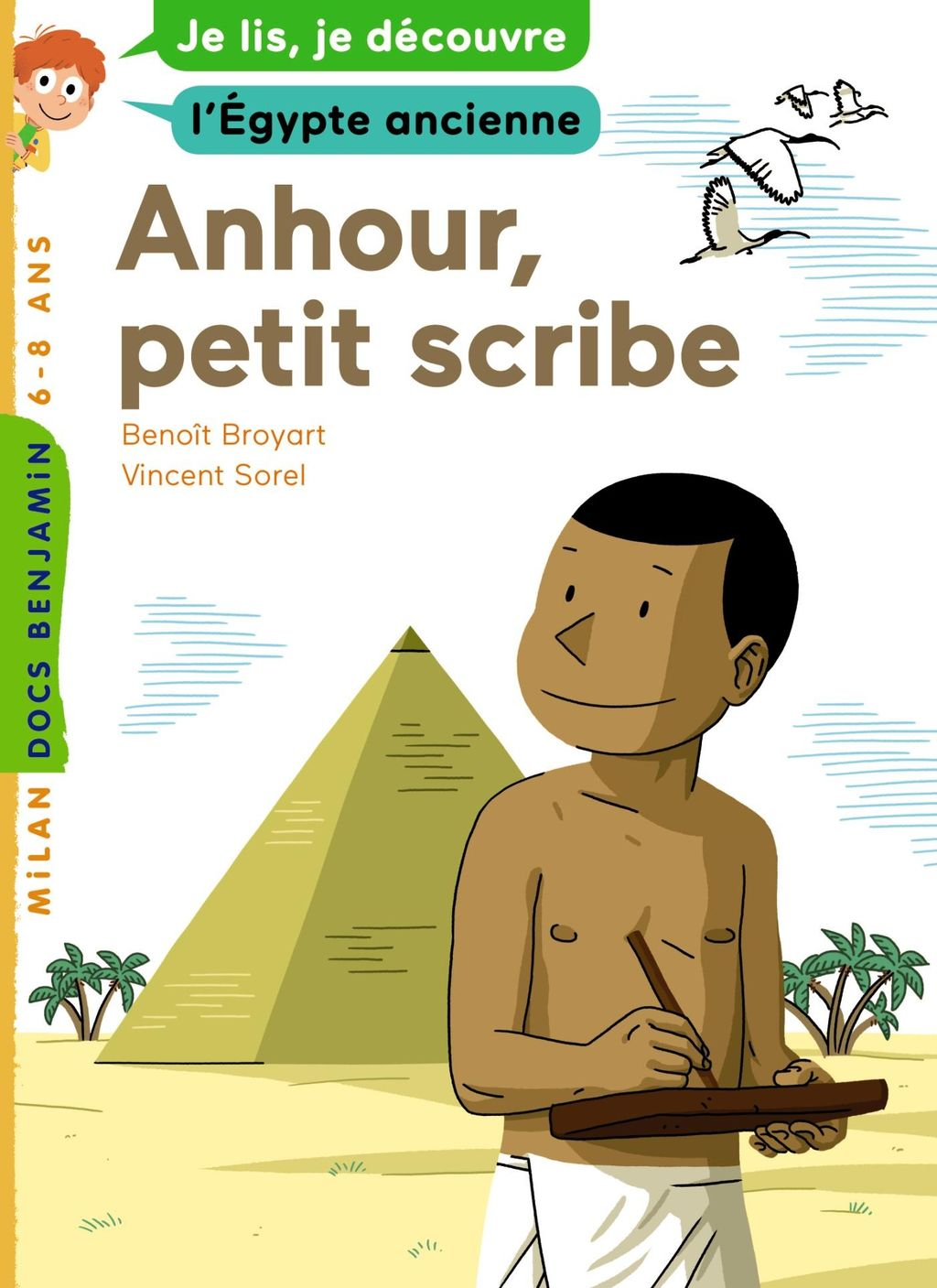 «Anhour, petit scribe» cover