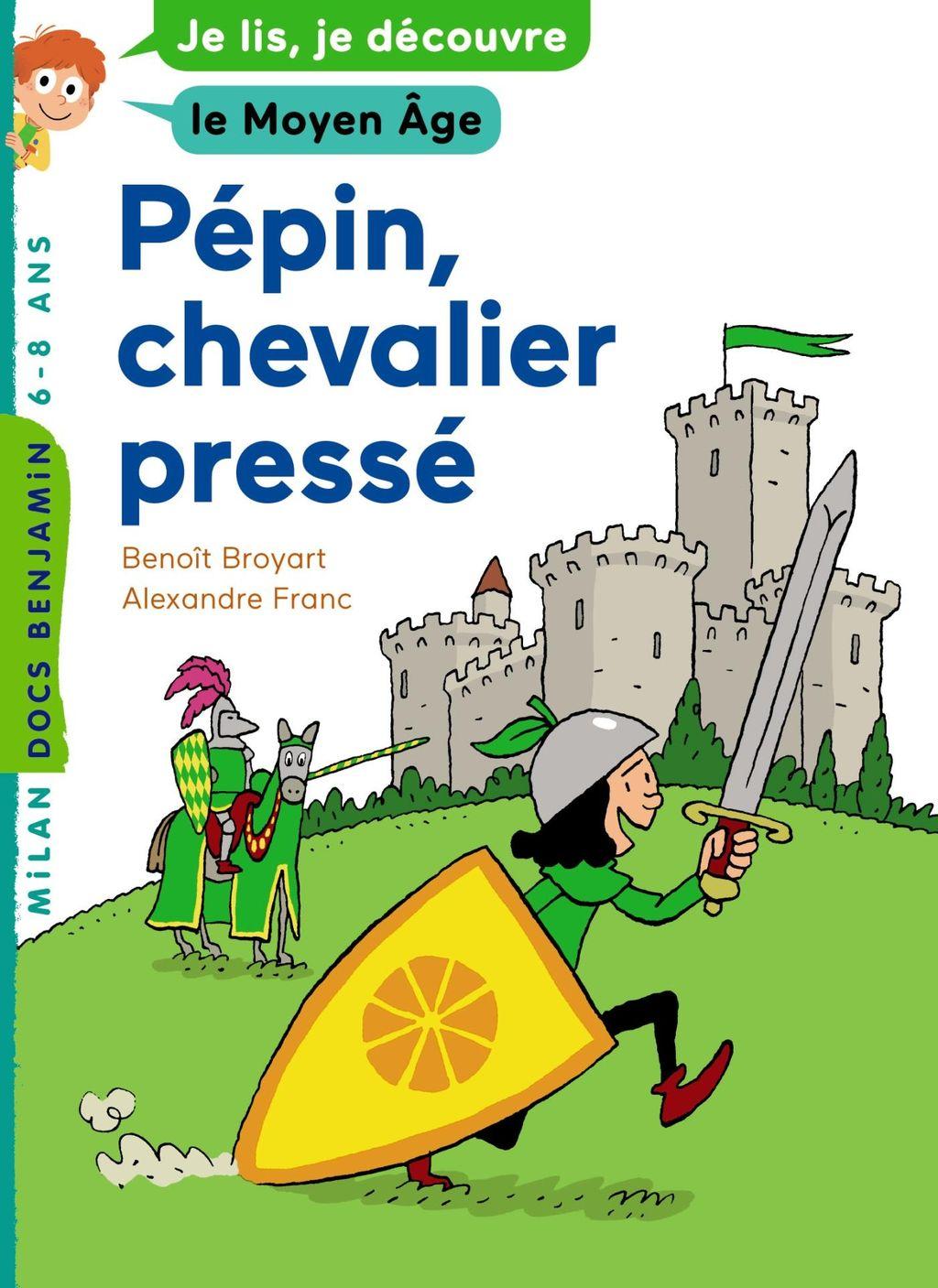 Couverture de «Pépin, jeune chevalier»