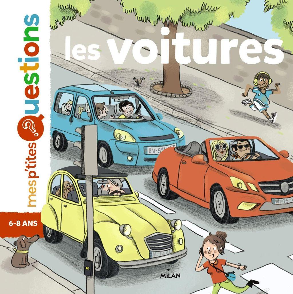Couverture de «Les voitures»