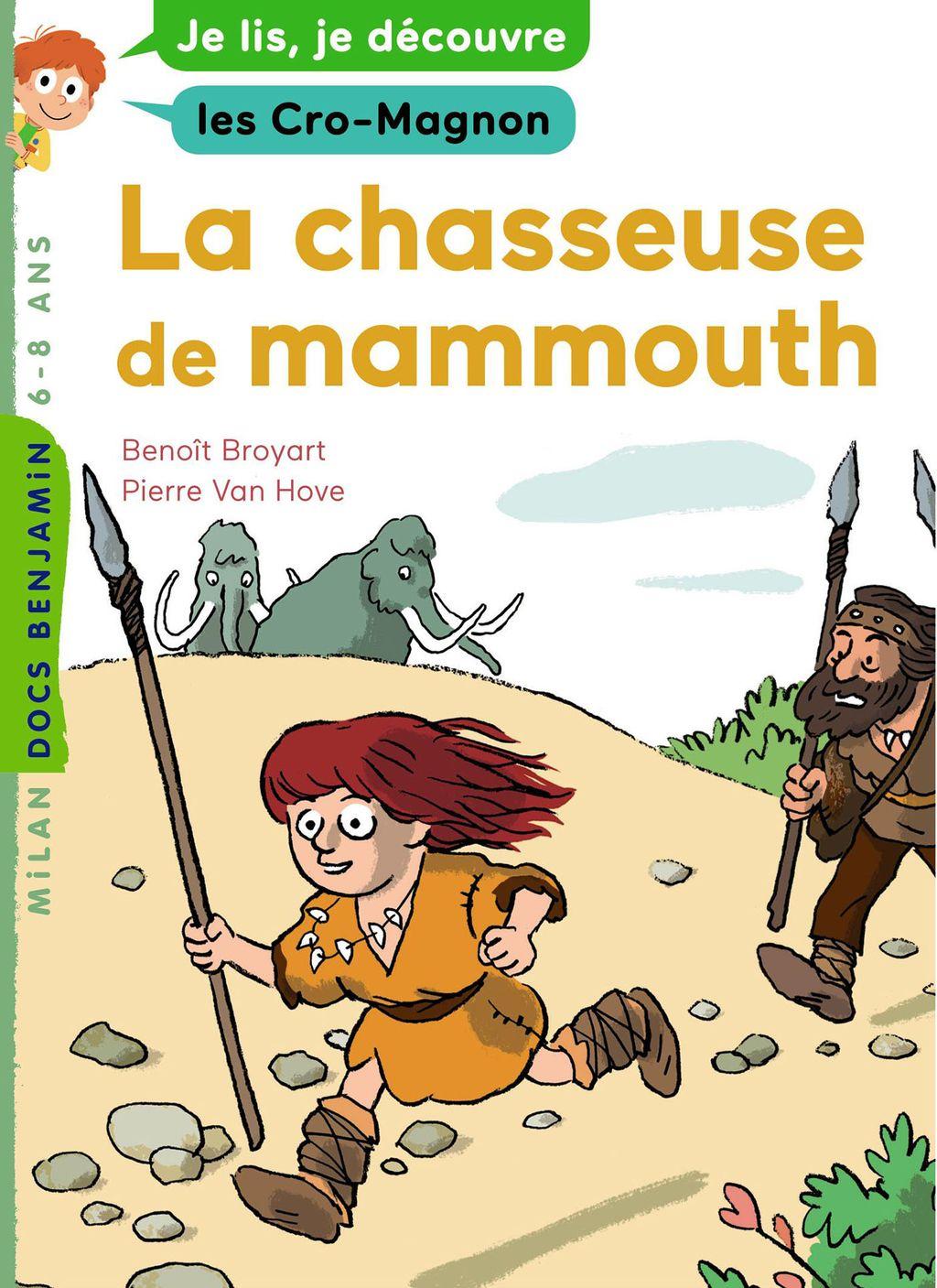 Couverture de «La chasseuse de mammouth»