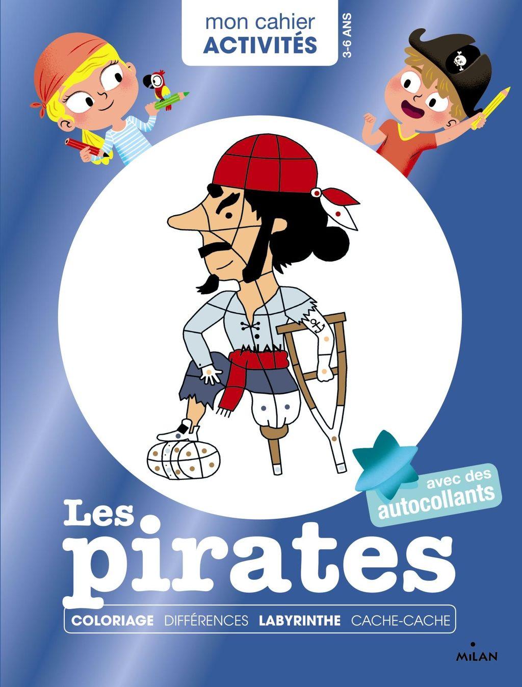 «Mon cahier d'activités – Les pirates» cover