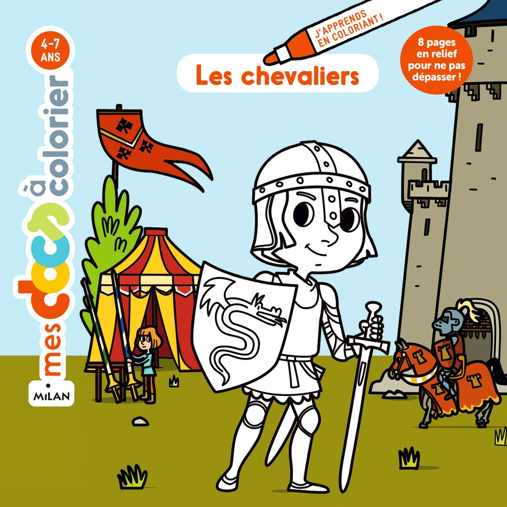 « Les chevaliers » cover