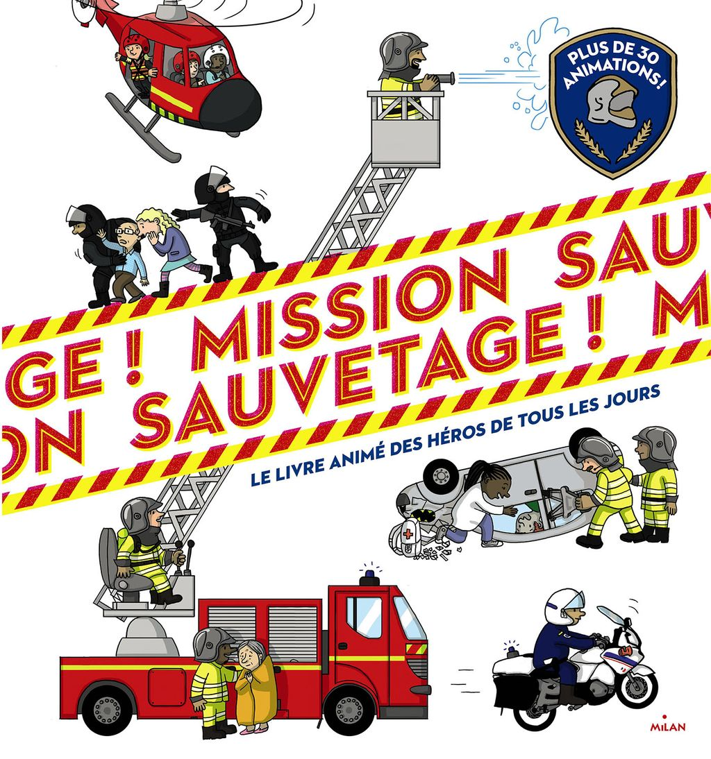 « Mission sauvetage » cover