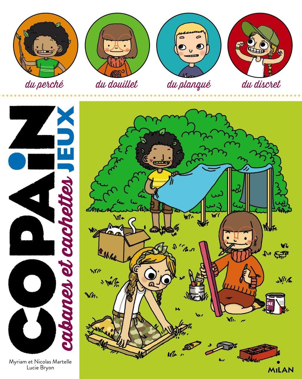 «Copain – Cabanes et cachettes» cover