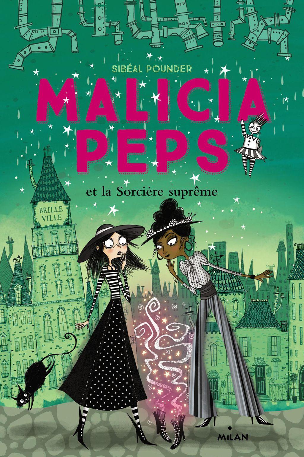 Couverture de «Malicia Peps et la sorcière suprême»