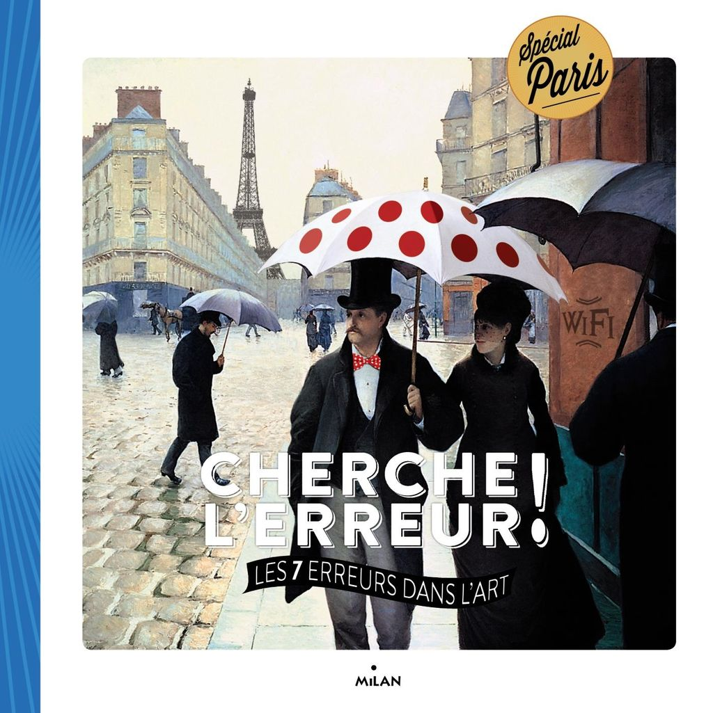 Couverture de «Cherche l'erreur ! Les 7 dans l'art – Paris»