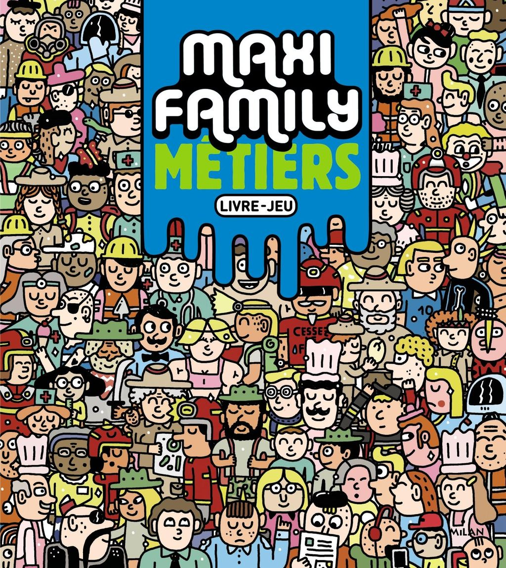 « Maxi Family Métiers » cover