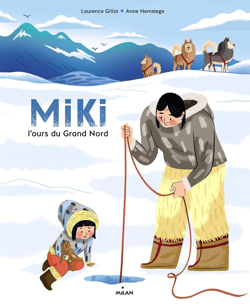 «Miki, l'ours du Grand Nord» cover