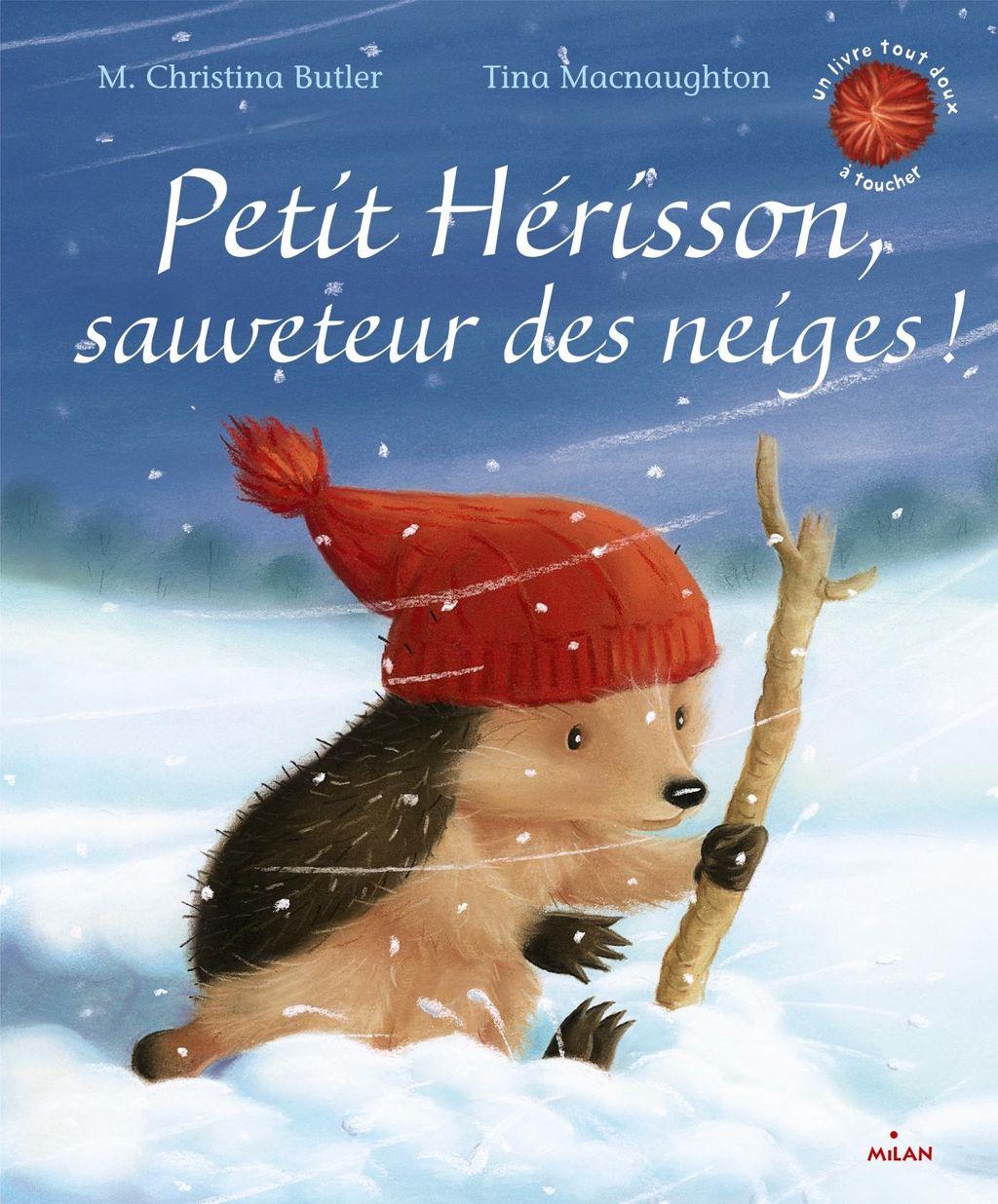 Couverture de «Petit Hérisson, sauveteur des neiges!»