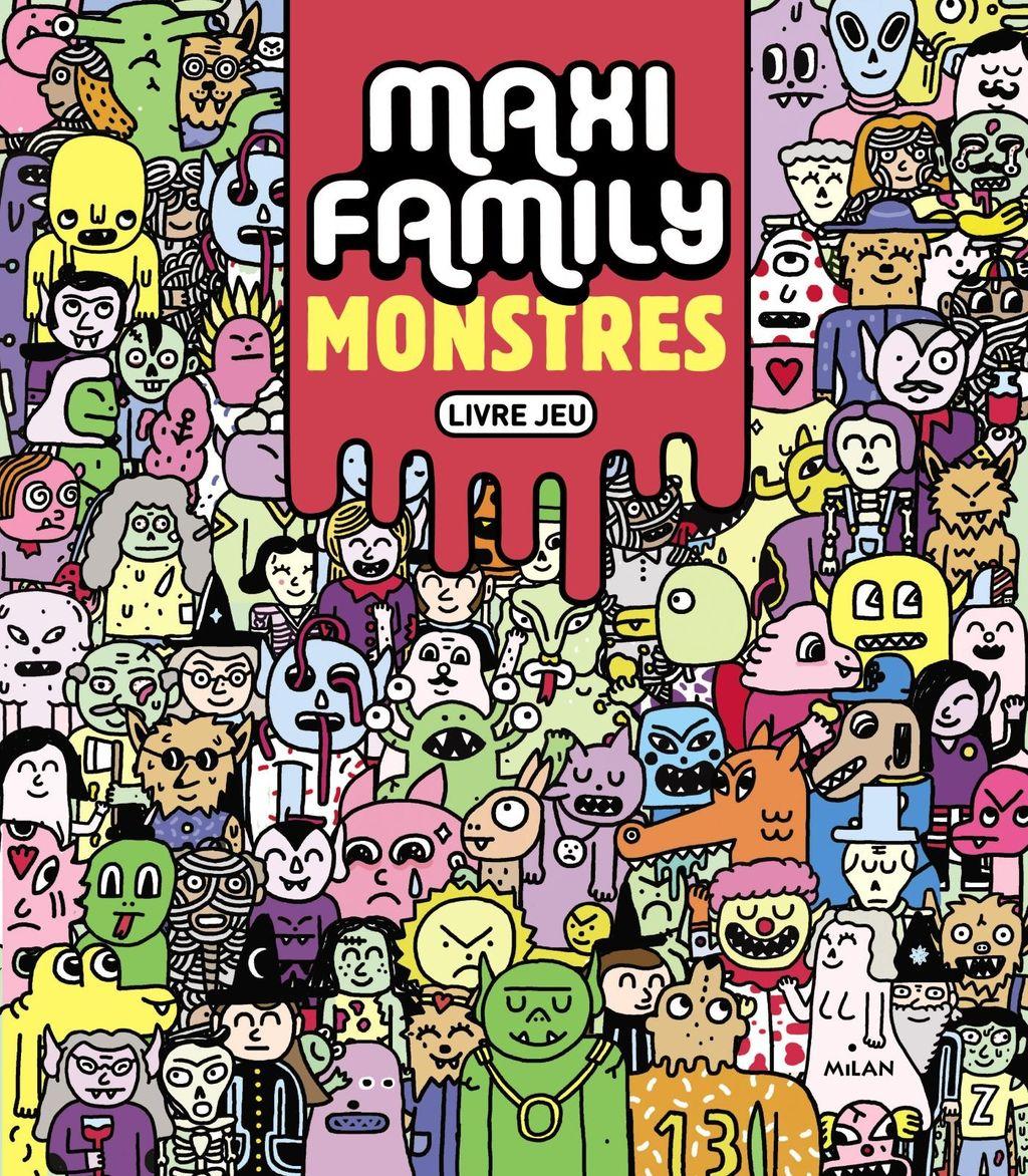 «Maxi Family Monstres» cover