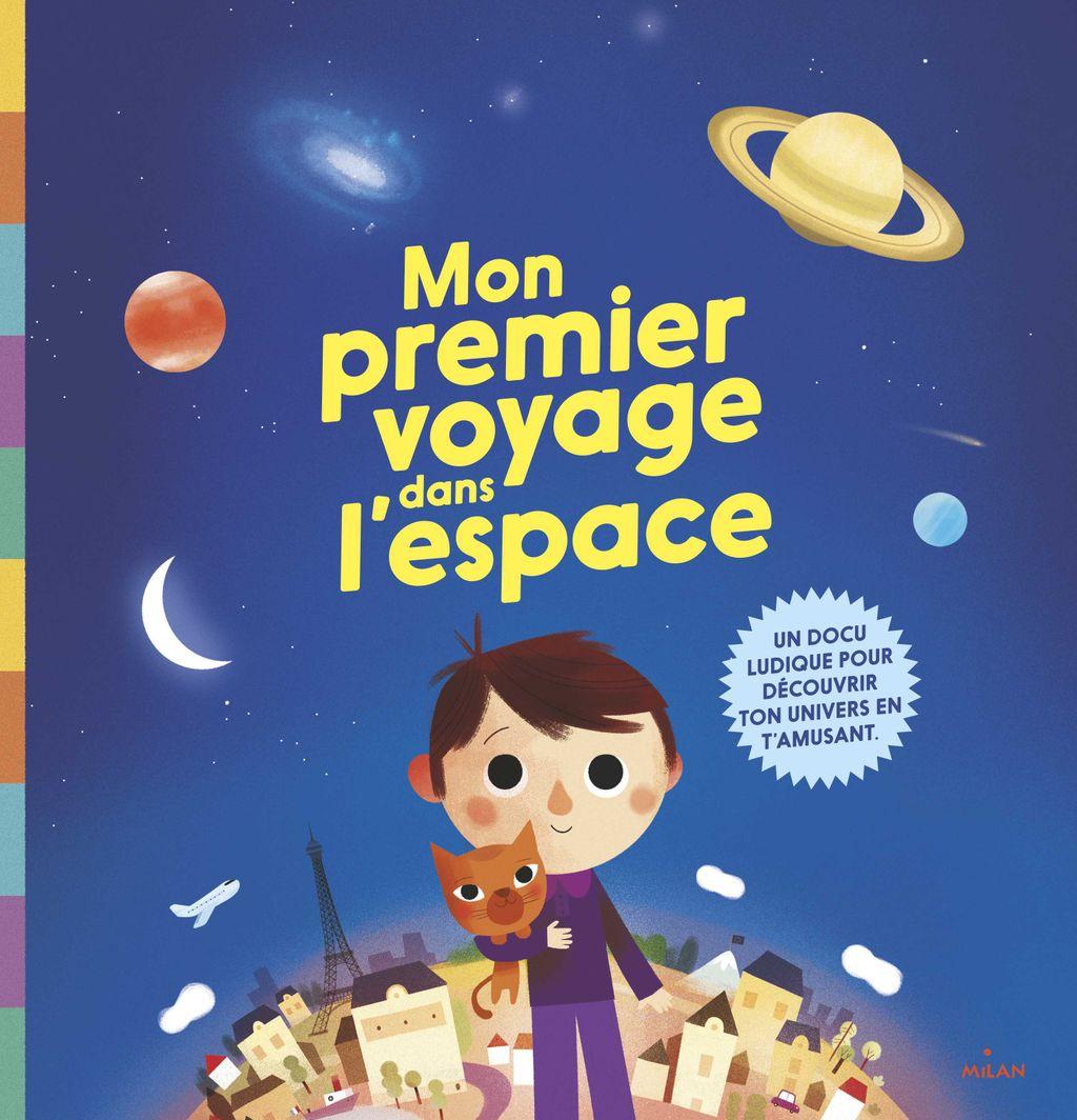 Couverture de «Ton premier voyage dans l'espace»