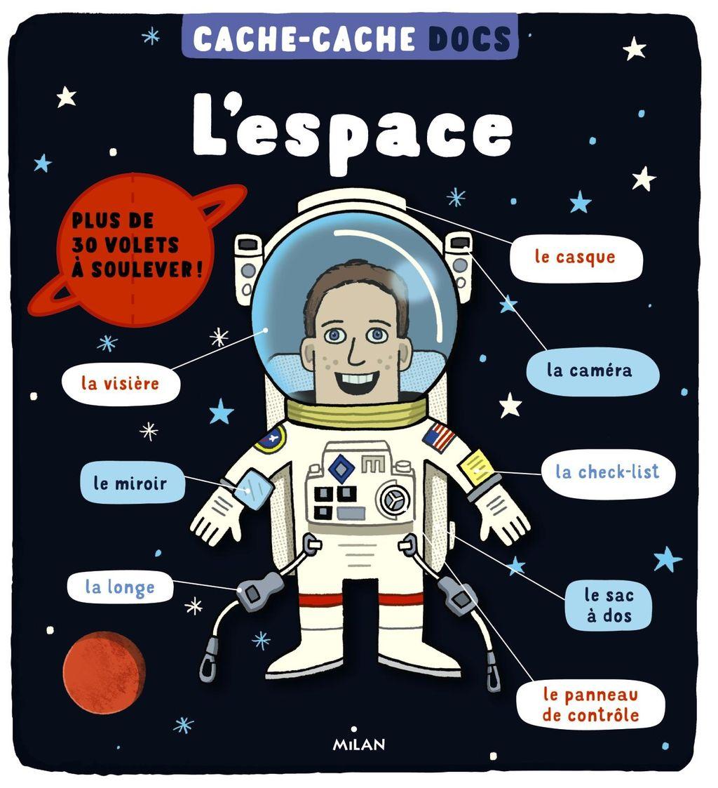 Couverture de «Cache-cache docs – L'espace»