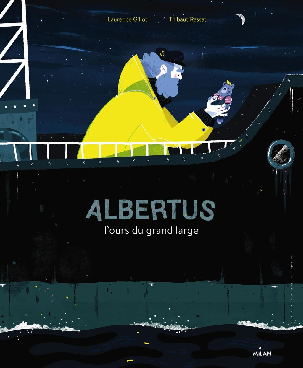 « Albertus, l'ours du grand large » cover
