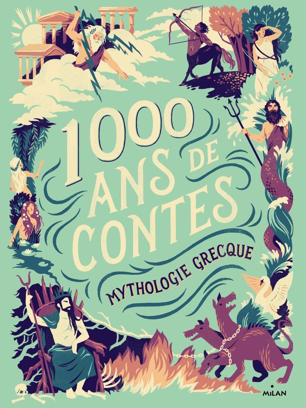 «Mille ans de contes Mythologie grecque» cover