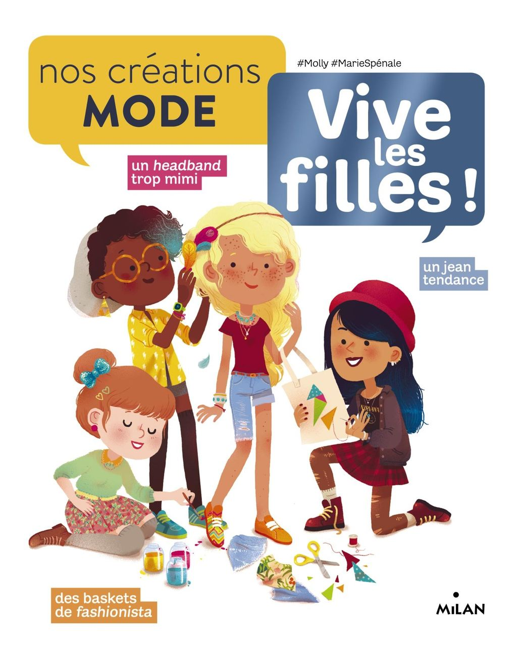 «Nos créations mode» cover
