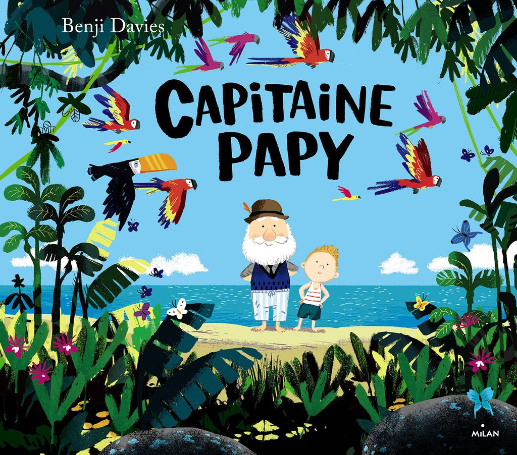 Couverture de « Capitaine Papy »