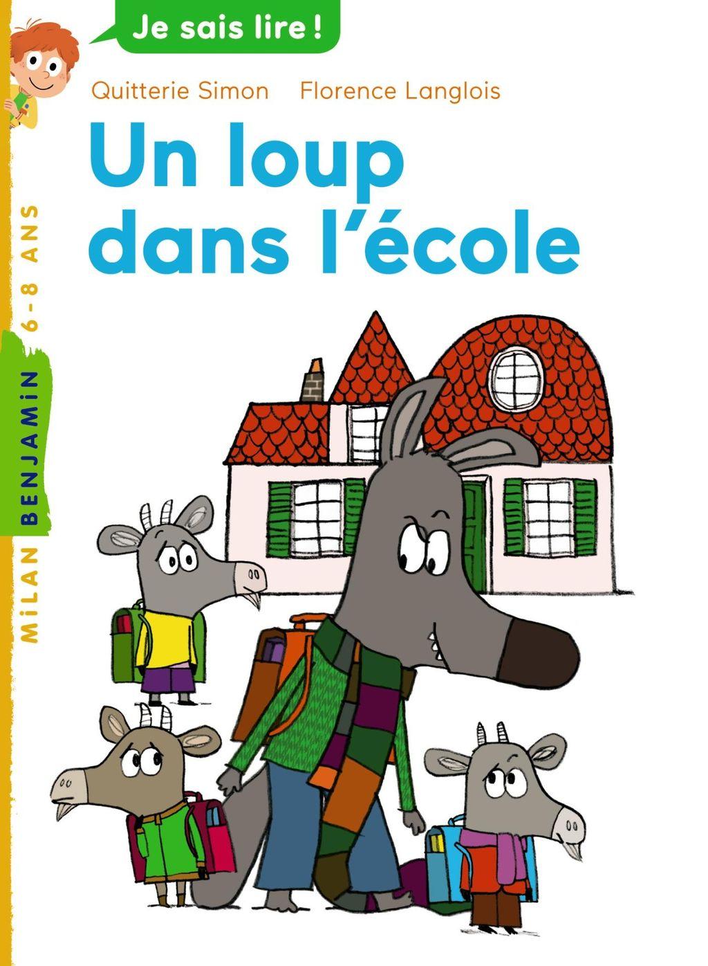 «Un loup dans l'école» cover