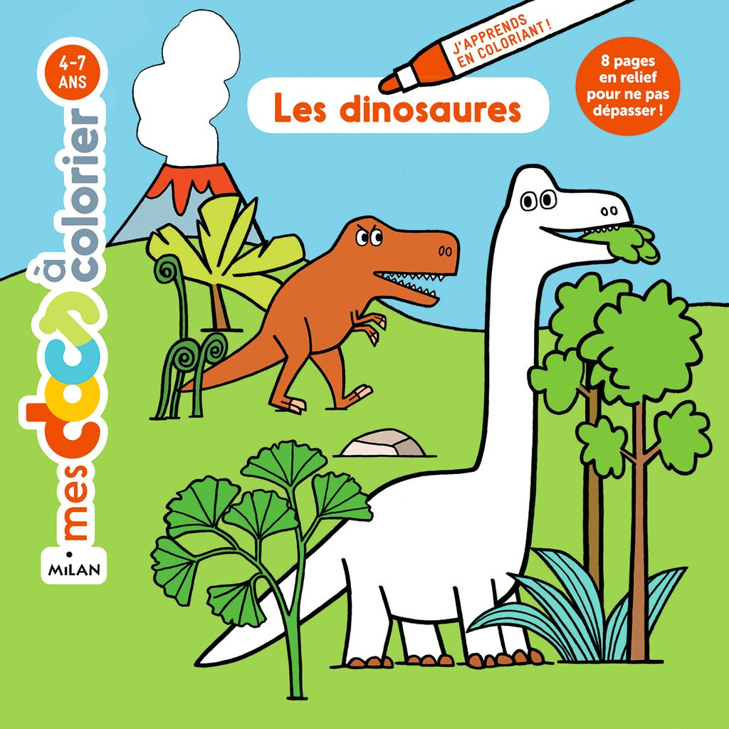 «Les dinosaures» cover
